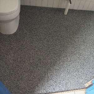 Epoxy Toilet